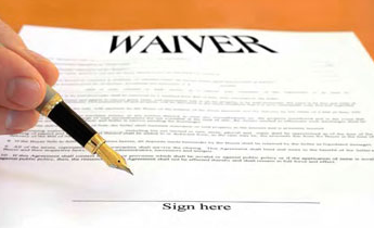 Liability waivers